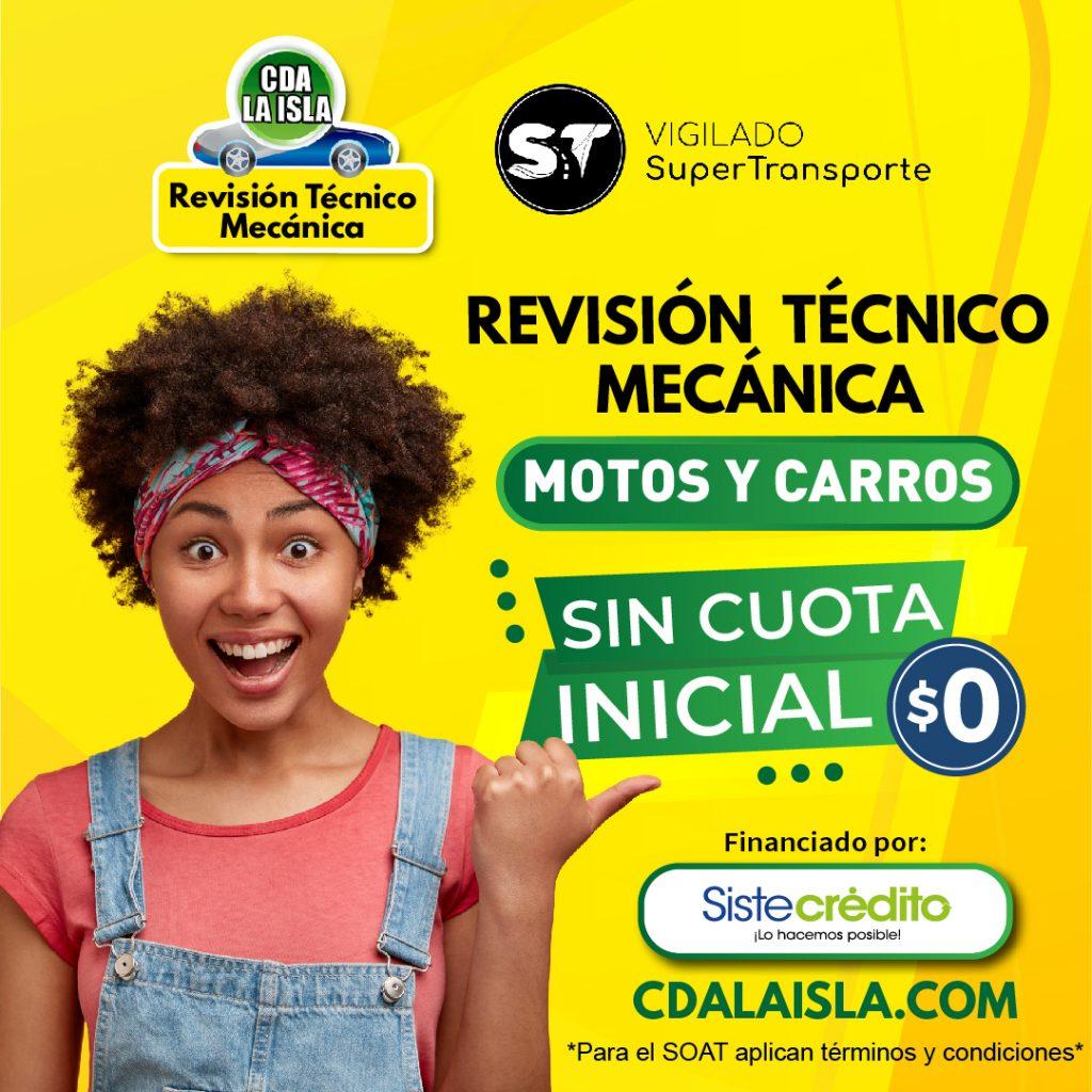 SOAT REVISION TECNOMECANICA CDA BUCARAMANGA