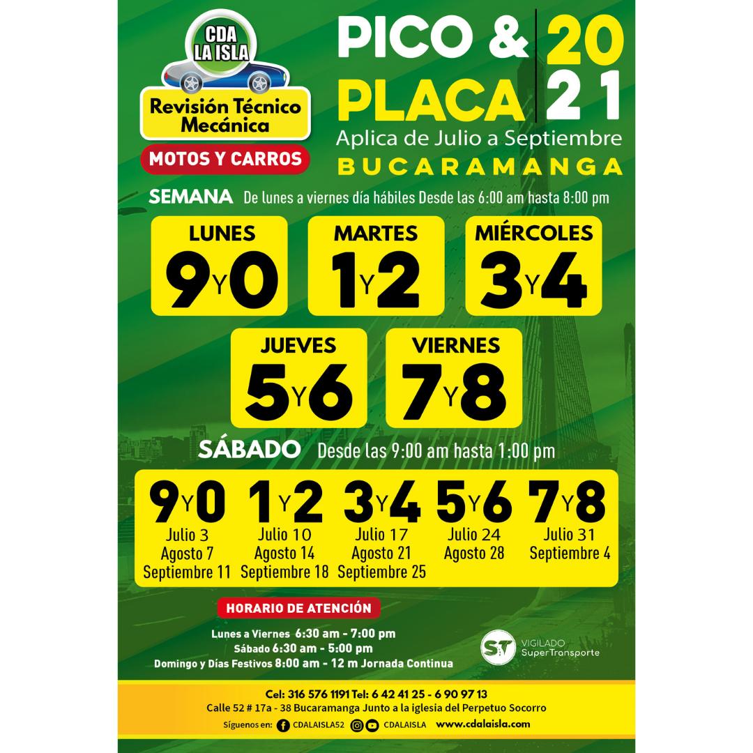 Revisión Técnico Mecánica CDA La Isla en Bucaramanga